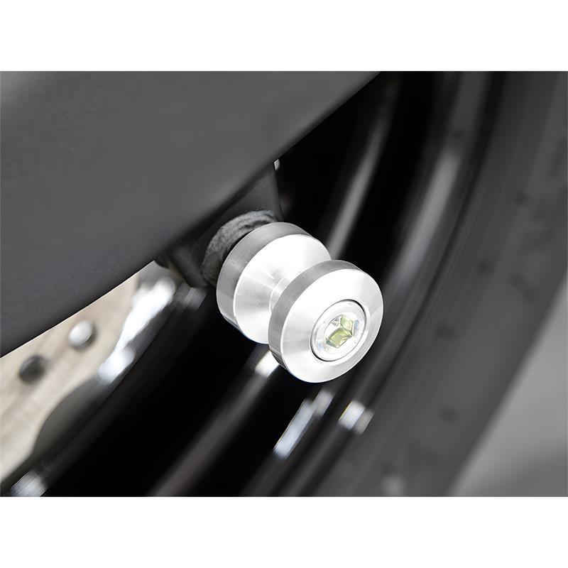 Bobbins / Racingadapter Montageständer M8 silber (mit Distanzhülse)