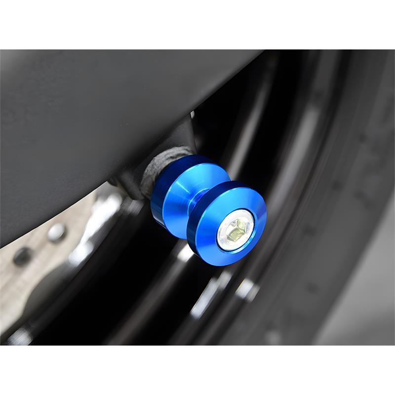Bobbins / Racingadapter Montageständer M8 blau (mit Distanzhülse)