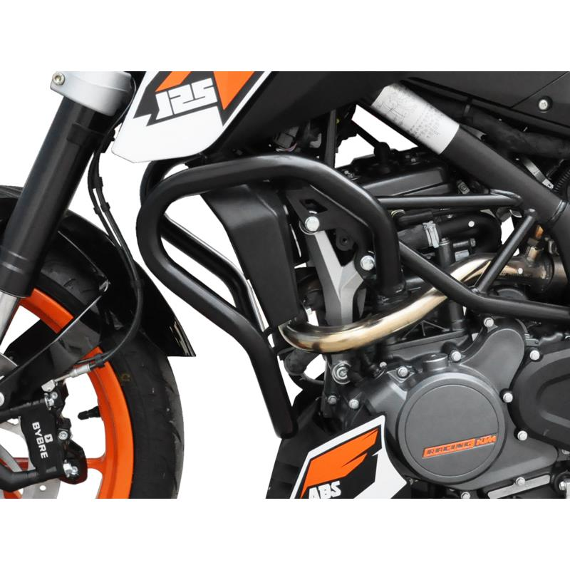sturzb gel ktm 125 200 duke bj 2011 16 schwarz. Black Bedroom Furniture Sets. Home Design Ideas