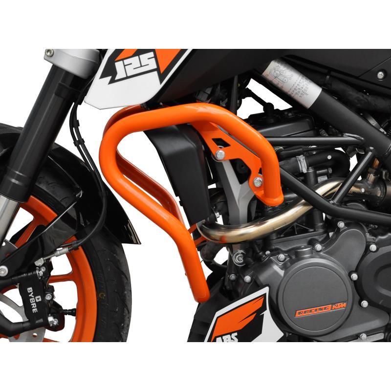 sturzb gel ktm 390 duke bj 2013 16 orange. Black Bedroom Furniture Sets. Home Design Ideas